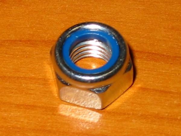 Sechskant-Stopmutter M10 verzinkt
