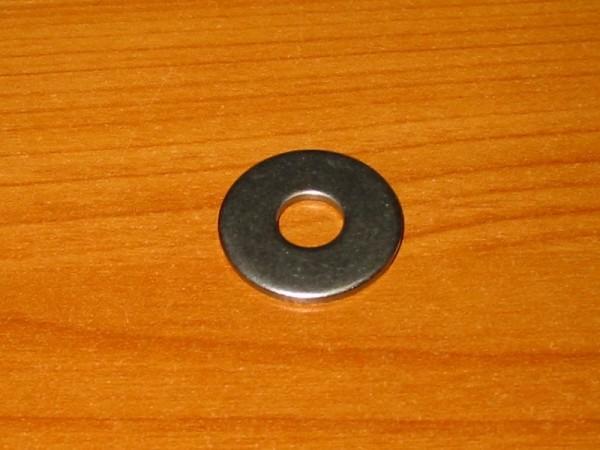 Scheibe 24 x 2 mm Loch 8,5 mm V2A