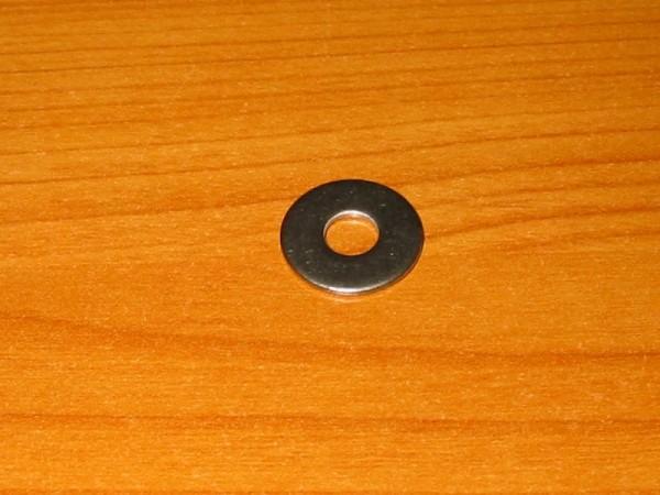 Scheibe 18 x 1,5 mm Loch 6,5 mm V2A